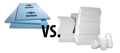 styrofoam vs eps