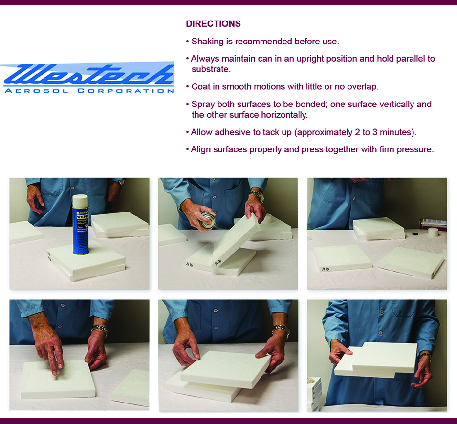Westech Adhesive Application Direction