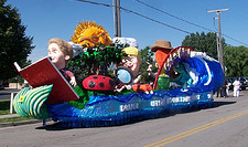 The Days of '47 Parade Float