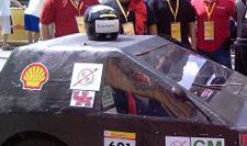Race Car using Giant Foam Blocks