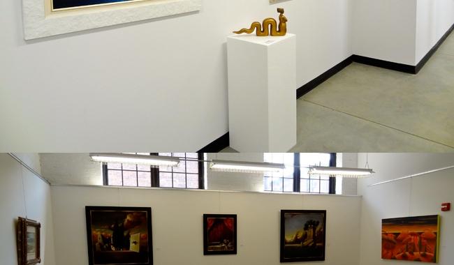 Expanded Polystyrene Blocks to Display Art