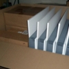 EPS sheets of various sizes to package electric control panels