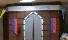 Ferguson Baptist Church created a back-drop for their vacation bible school play