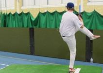 Indoor Pitcher's Mound
