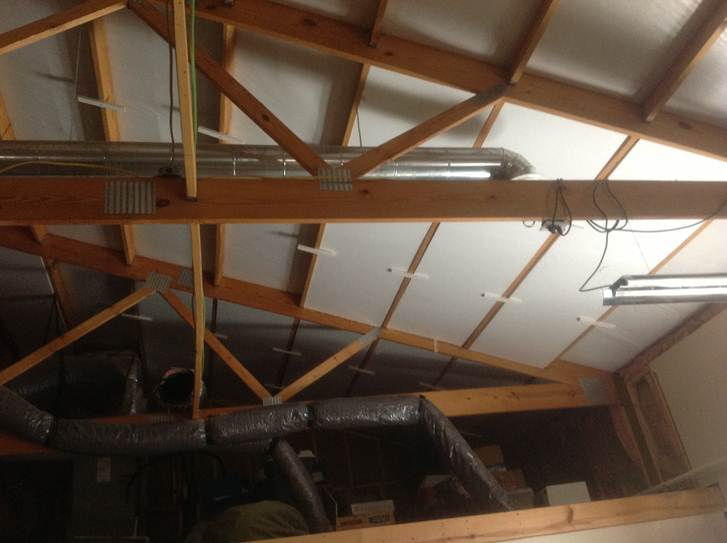 Foam Insulation For Garages Universal Foam Products
