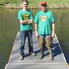 6 feet x 12 feet floating dock using Formex encapsulated floats
