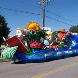 Styrofoam Parade Floats
