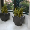 Recycled expanded polystyrene void fill for planters