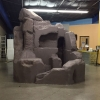 EPS Foam blocks to create giant rock formation