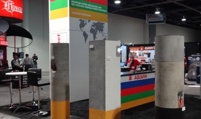 Styrofoam Trade Show Booth
