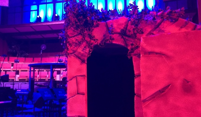 Easter Set for Church Play