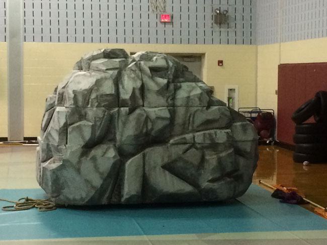 Artificial Boulder From Eps Foam Universal Foam Products
