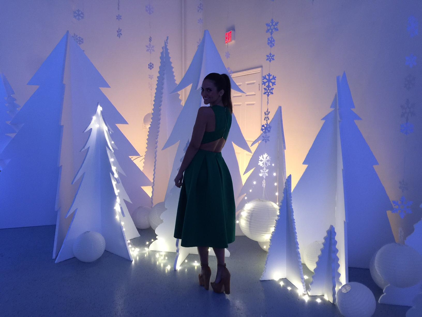 Styrofoam Pine Tree Props