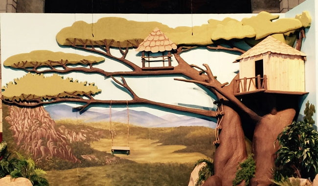 VBS Theatrical Backdrop