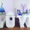 Styrofoam Letter for Wedding