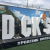 6 feet foam letters used by Dick Sporting Goods