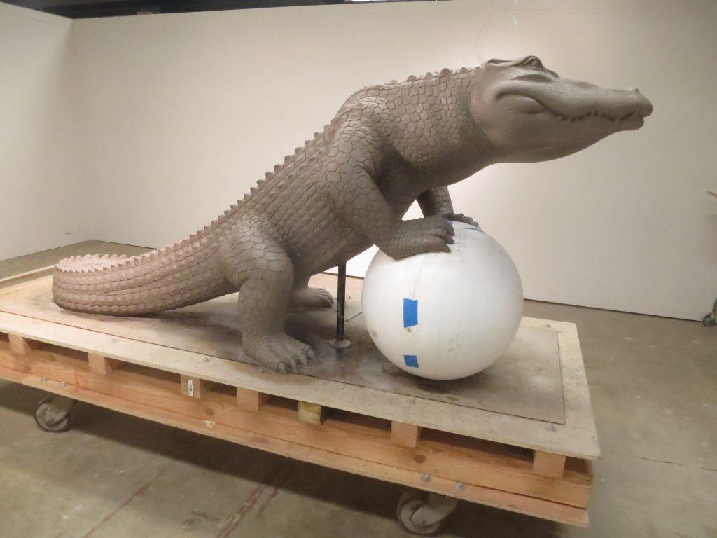 Eps Foam Sphere Used To Create Sculpture Of San Francisco