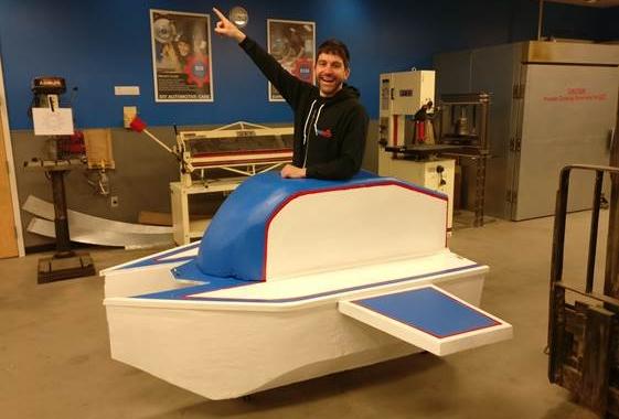 EPS used create aerodynamic flying machine