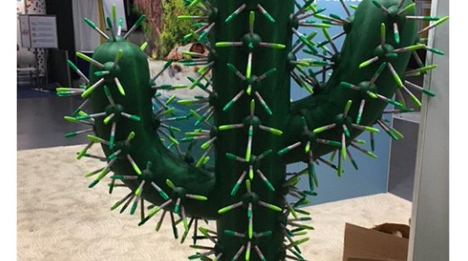 Cactus Prop using Foam