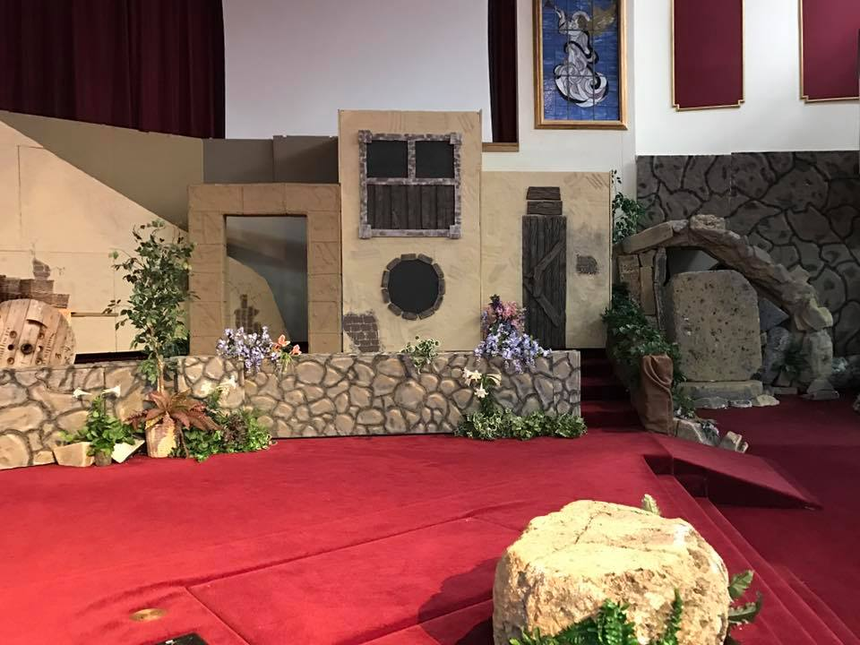Church Easter Play Prop