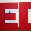 Large Custom Foam Letters for TED Talk Events