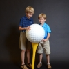 Large EPS Foam Golf Balls & Tees