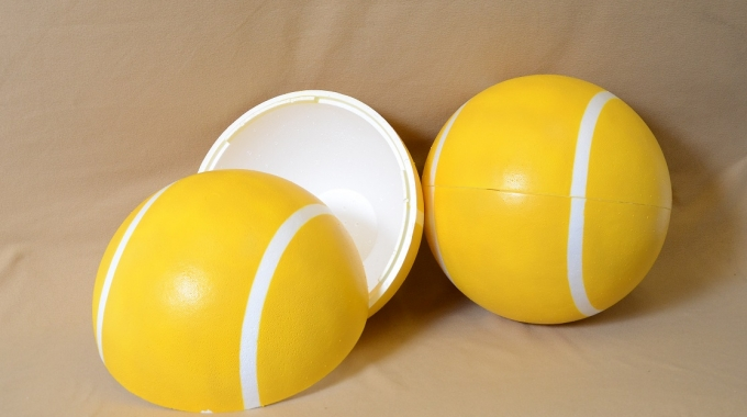 Large EPS Foam Tennis Ball