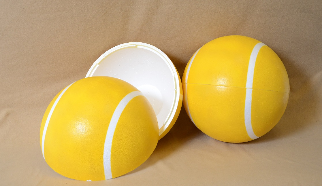 Large EPS Foam Tennis Ball | Universal Foam Products ...