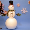 EPS Foam Snowman