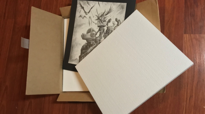 Foam Packaging for Shipping Art Work