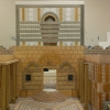 Large scale replica of Herod's Temple