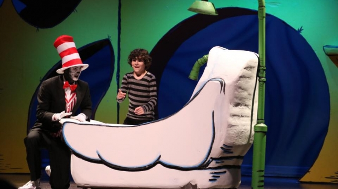 Economical Styrofoam Theatrical Sets