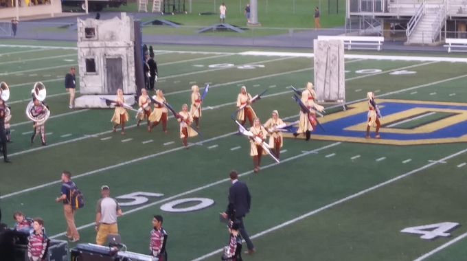 Large Movable Prop for Marching Band