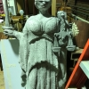 Large EPS Foam Statue of the Lady of Blind