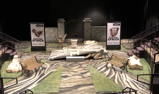 Theatrical Set & Prop Created by Virginia University School of Theater & Dance