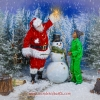Styrofoam Snowman