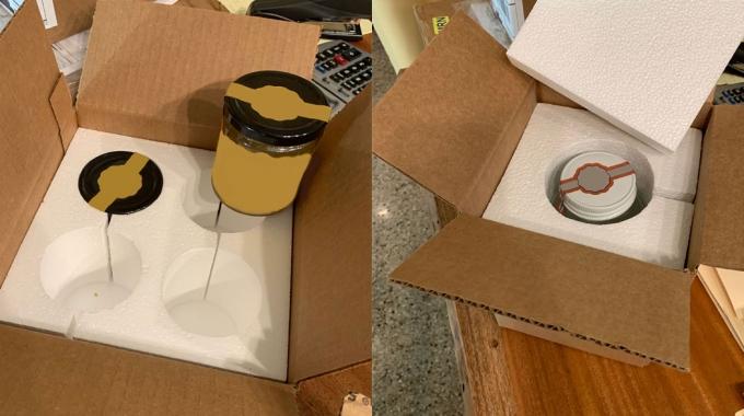EPS Foam Packaging for Jars & Bottles