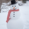 4 Foot Tall Styrofoam Snowman For a Photo Shoot