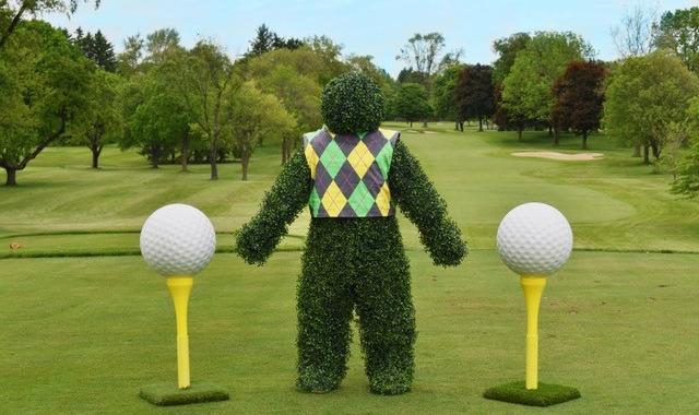Giant Golf Balls