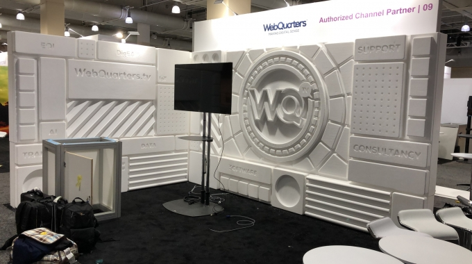 Advanced Booth Display for IFS World Conference