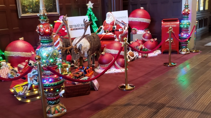 Large Christmas Ornaments from EPS Foam